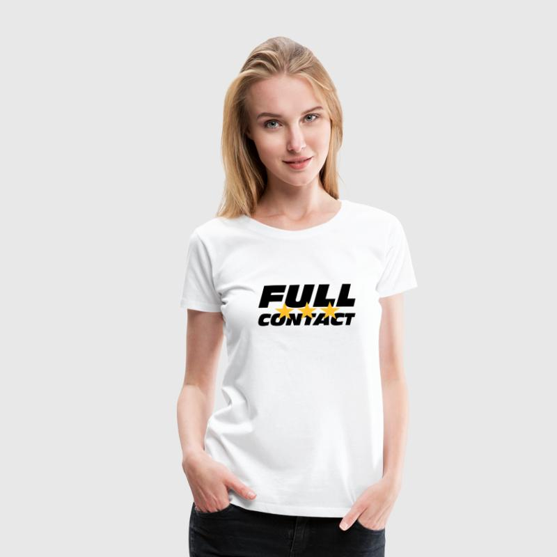 Full Contact - T-shirt Premium Femme