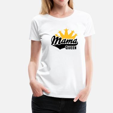 Mommy QUEEN Mama Krone 2C - Women's Premium T-Shirt
