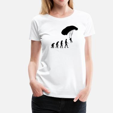 Skydive Evolution skydiving - Women's Premium T-Shirt
