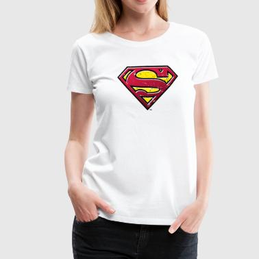 Superman Logo Men Hoodie - Premium T-skjorte for kvinner