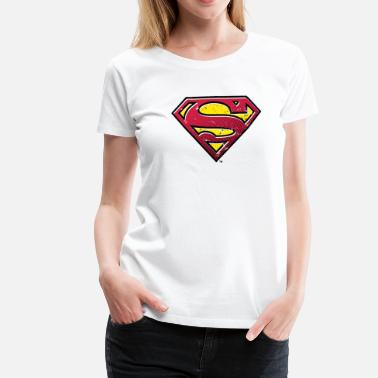 Superman Superman Logo Men Hoodie - Premium T-skjorte for kvinner