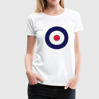 Mod Sign For White Shirts - Women's Premium T-Shirt