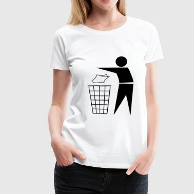 Disposal Waste disposal Recycling - Women's Premium T-Shirt