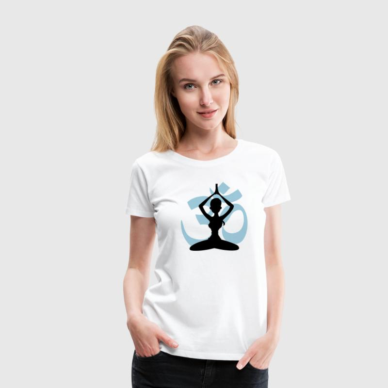 Yoga - Om - Women's Premium T-Shirt