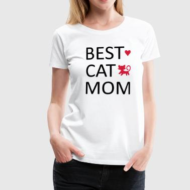 Best Cat Mom - Women's Premium T-Shirt