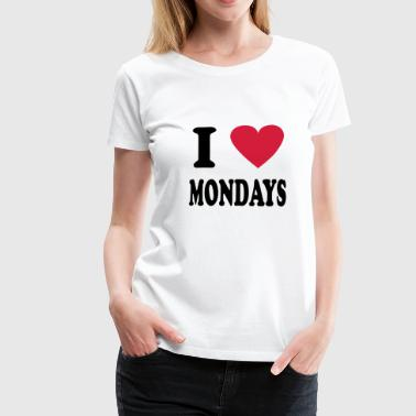 monday - Frauen Premium T-Shirt