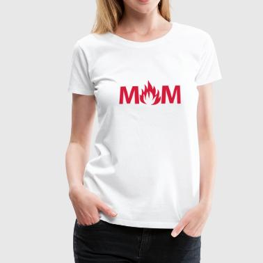 Milf Awesome Hot Mom - Women's Premium T-Shirt