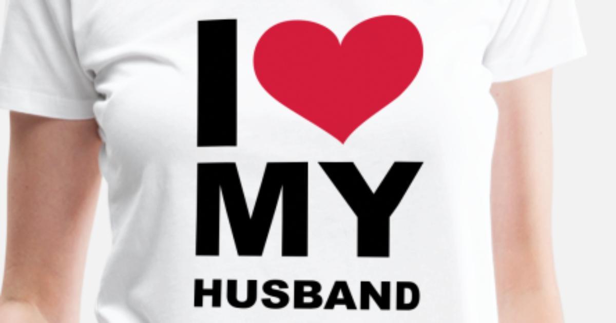 I Love My Husband Eushirtcom Nl Vrouwen Premium T Shirt