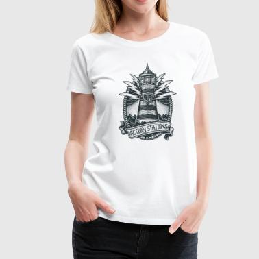 Lighthouse Collection - Women's Premium T-Shirt - Premium T-skjorte for kvinner