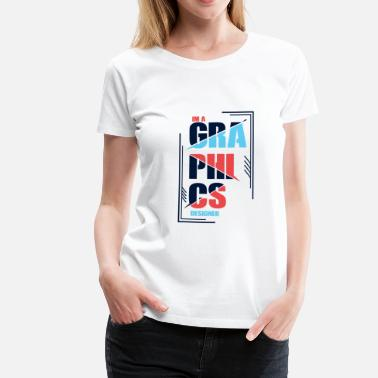 Birthday Graphics graphic Designer - Women's Premium T-Shirt