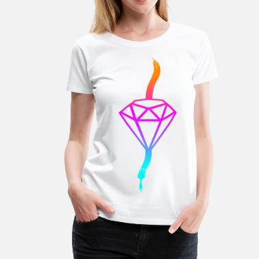 Diamant Comic Diamant - Frauen Premium T-Shirt