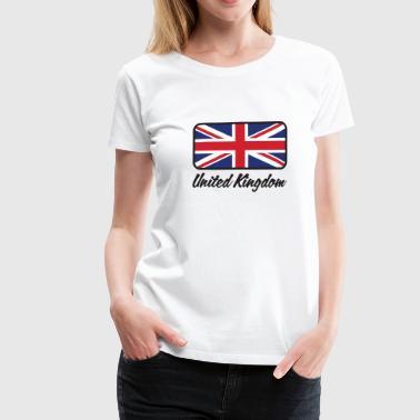 National Flag of the United Kingdom - Women's Premium T-Shirt