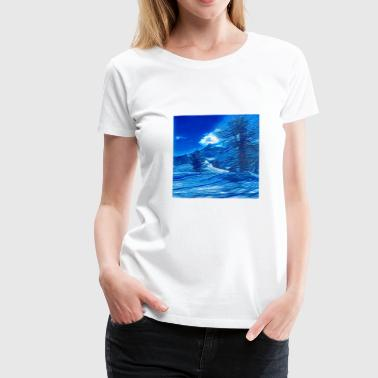 Magic of the Mountains of the Moon - Dame premium T-shirt