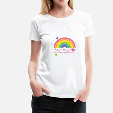 Rainbow Pride Unicorn Pride Rainbow - Women's Premium T-Shirt