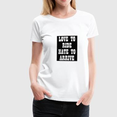 Paroles Paroles de motards - T-shirt Premium Femme