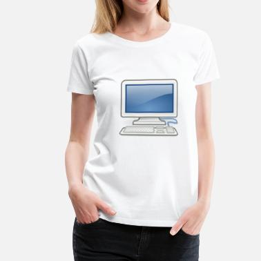Pc great for PC nerds or PC in love - Women's Premium T-Shirt