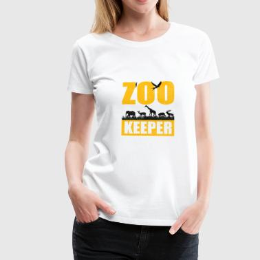Zoo Zoology Animal Park Animal Animals Safari Afrika - Premium T-skjorte for kvinner
