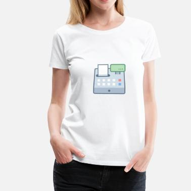 Register cash register - Women's Premium T-Shirt