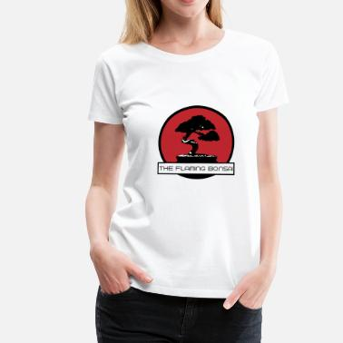 Little Pickle The Flaming Bonsai Final Company Logo - Women's Premium T-Shirt