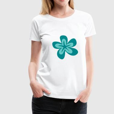 Hawaii-Blume 10 - Frauen Premium T-Shirt