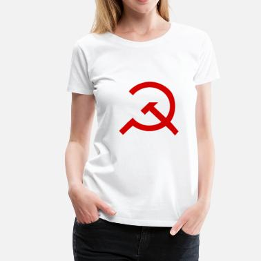 Le Marxisme Marteau simple et Sickle - T-shirt Premium Femme