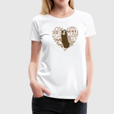 Big Love Chevaux BIG LOVE - T-shirt Premium Femme