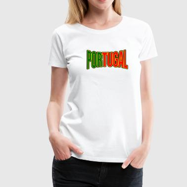 Portugal Fan Articles - Sports Fans T-shirt - Women's Premium T-Shirt