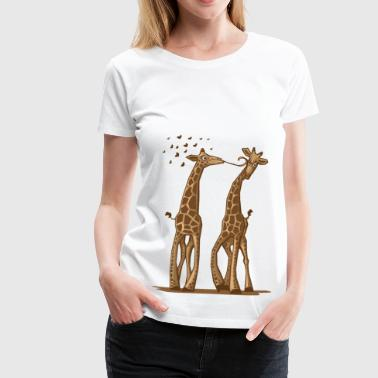 Animal One Way Love - Women's Premium T-Shirt
