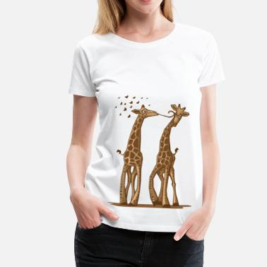 Animal One Way Love - T-shirt Premium Femme