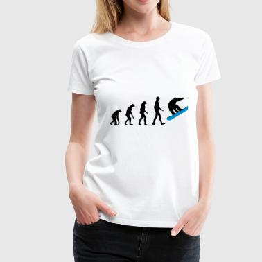 Evolution-snowboard Evolution Snowboard - Women's Premium T-Shirt