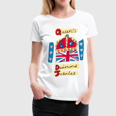 Jubilee The Queen's Diamond Jubilee - Women's Premium T-Shirt