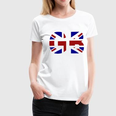 GB Union Jack - Women's Premium T-Shirt