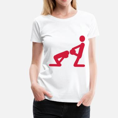 Penis Blow Blow Job - Frauen Premium T-Shirt