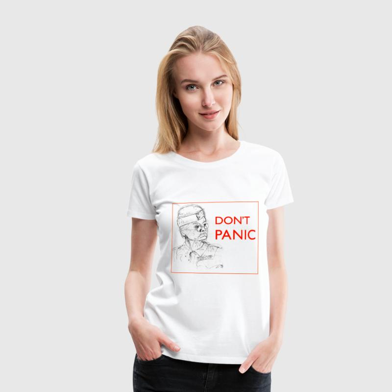 Dad's Army Jones - Don't panic - Women's Premium T-Shirt