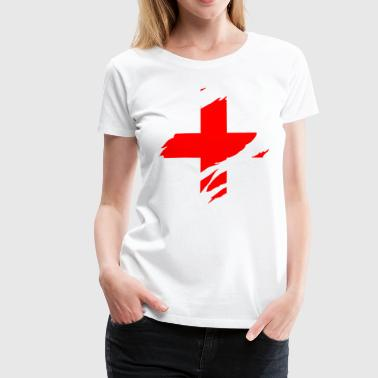 ripped shirt st george - Frauen Premium T-Shirt