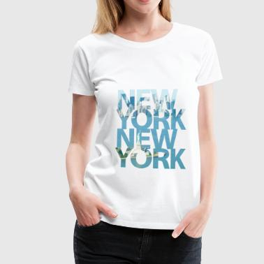 New York, New York - Frauen Premium T-Shirt