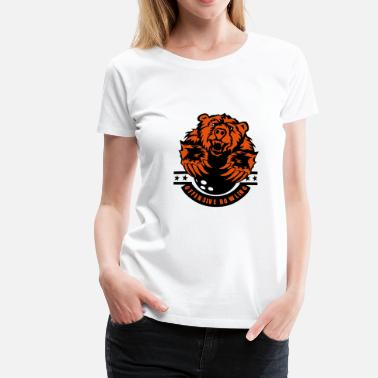 Ours Sport bowling ours bear logo sport - T-shirt Premium Femme