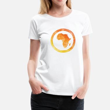 Map Map Africa - Women's Premium T-Shirt