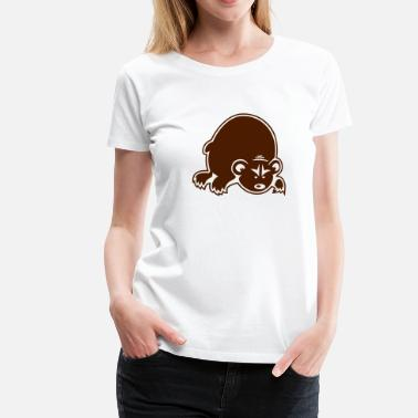Angry People Angry Bear - Women's Premium T-Shirt