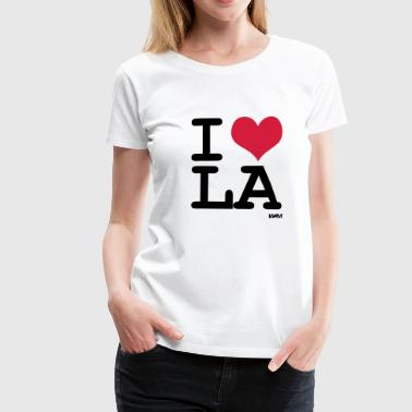 I Love Los Angeles I love LA los angeles by wam - T-shirt Premium Femme