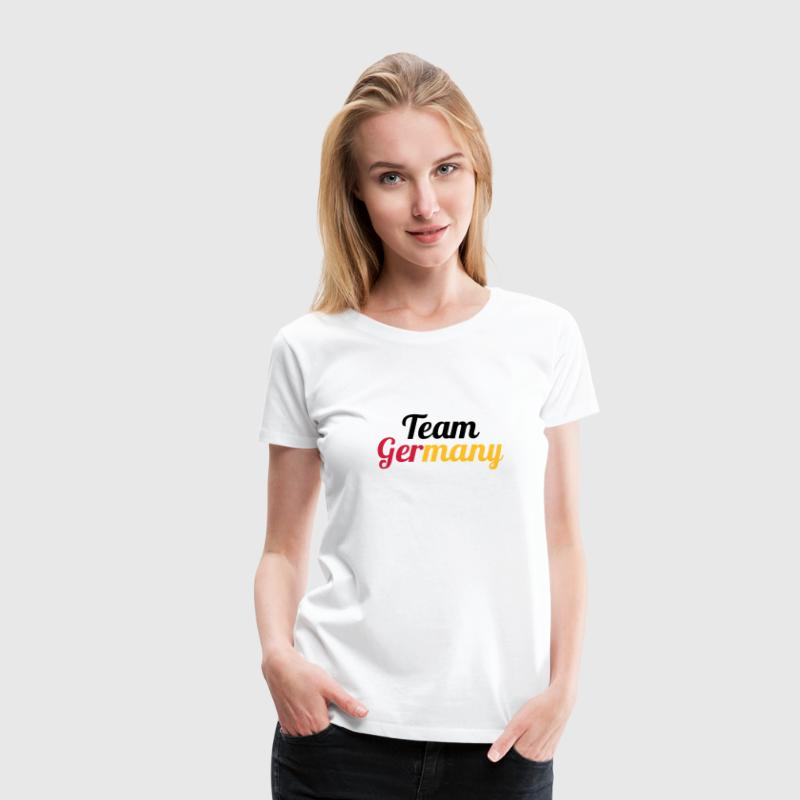 Team Germany - Deutschland - Frauen Premium T-Shirt