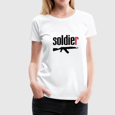 Soldier - Women's Premium T-Shirt