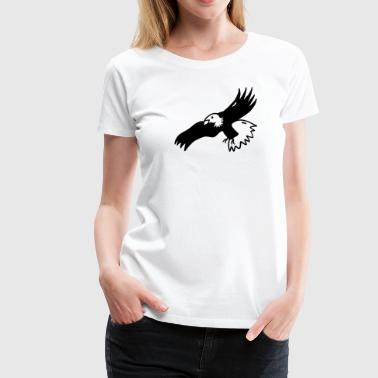 Eagle Buzzard Bird of prey - Women's Premium T-Shirt