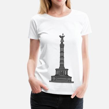Goldelse Siegessäule Berlin 2 - Frauen Premium T-Shirt