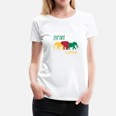 Enfant Enfant d'afrique / Art / Design - Women's Premium T-Shirt