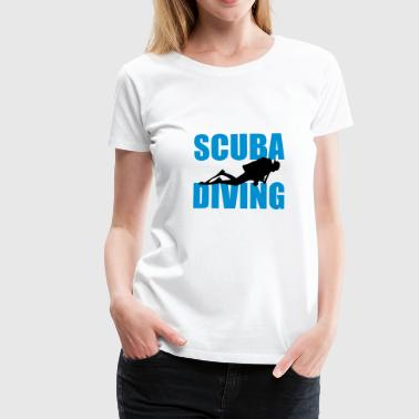 Scuba Diving - Premium T-skjorte for kvinner