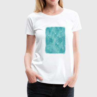 Good Evening Trapped in my dreams - turquoise - Women's Premium T-Shirt