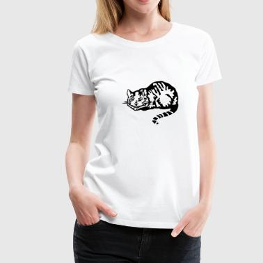 Alice Im Wunderland Cheshire cat - Frauen Premium T-Shirt