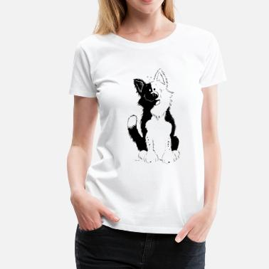 Border Collie Carino Border Collie - Maglietta Premium da donna