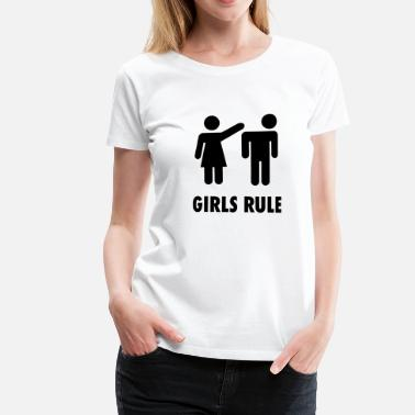 Girls Rule Girls Rule - Women's Premium T-Shirt